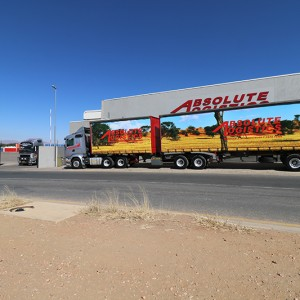 Absolute Logistics Road Freight Truck