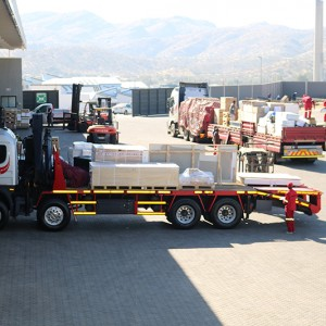 Road Freight Loading Trucks